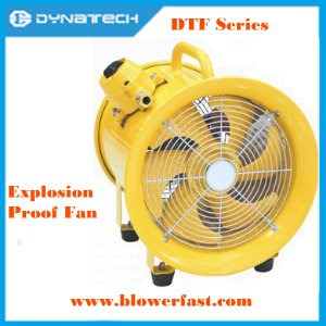 The Explosion-proof Industrial Fans applied with the condition of explosion-proof gases.[永紳科技有限公司]
