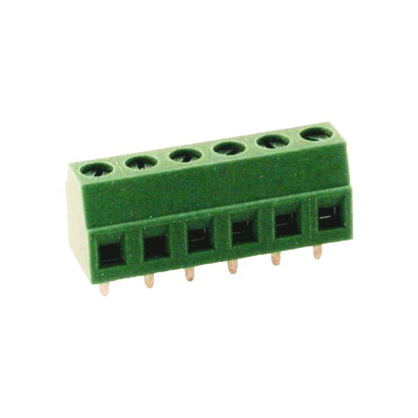 CBP2-HC381 Euro-Style PCB Terminal Blocks, 3.81mm pitch, 10A 300VAC, Accepts wire range 26~16 AWG, 2-Pole and 24-Pole Euro-Style Fixed Mount.