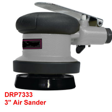 "3"" Air Sander is designed with soft comfortable grip and lightweight for continuous fatigue free use."