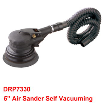 "5"" Air Sander is  constructed with heat treated steel components for long life."