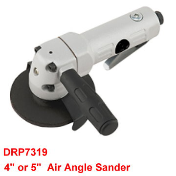 "4"" or 5"" Air Angle Sander is designed with  build-in regulator to control speed."