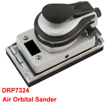 Air Orbital Sander is designed in compact size for one-hand operation.[永紳科技有限公司]