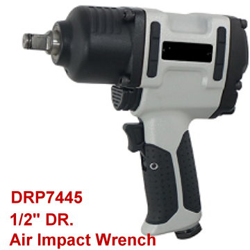 "1/2"" DR. Twin Hammer Air Impact Wrench"