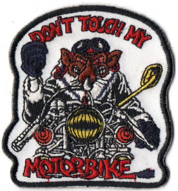 "The backing of this patch is IRON-ON and the size is 3.5""."