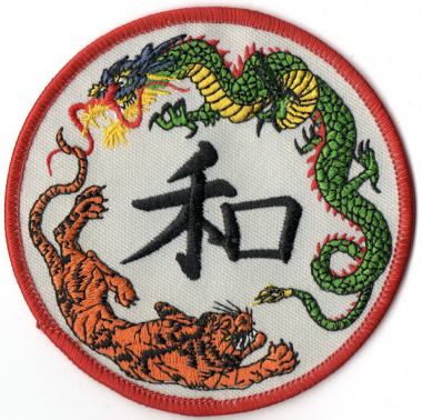This judo patch can decorate your favorite item such as jacket, jean, cap, or backpack perfectly.