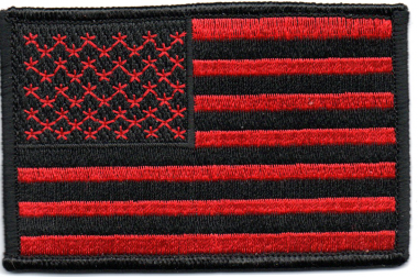 Tactical morale patch American flag embroidered American flag patch. The back can be added to the Velcro.[聖享豐有限公司]